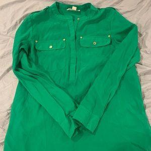 Green Michael Kors blouse